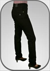 1278c64d549 Černé slim kalhoty CLEO dl.34