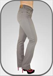 Dámské šedé prodloužené kalhoty 216 dl. 36