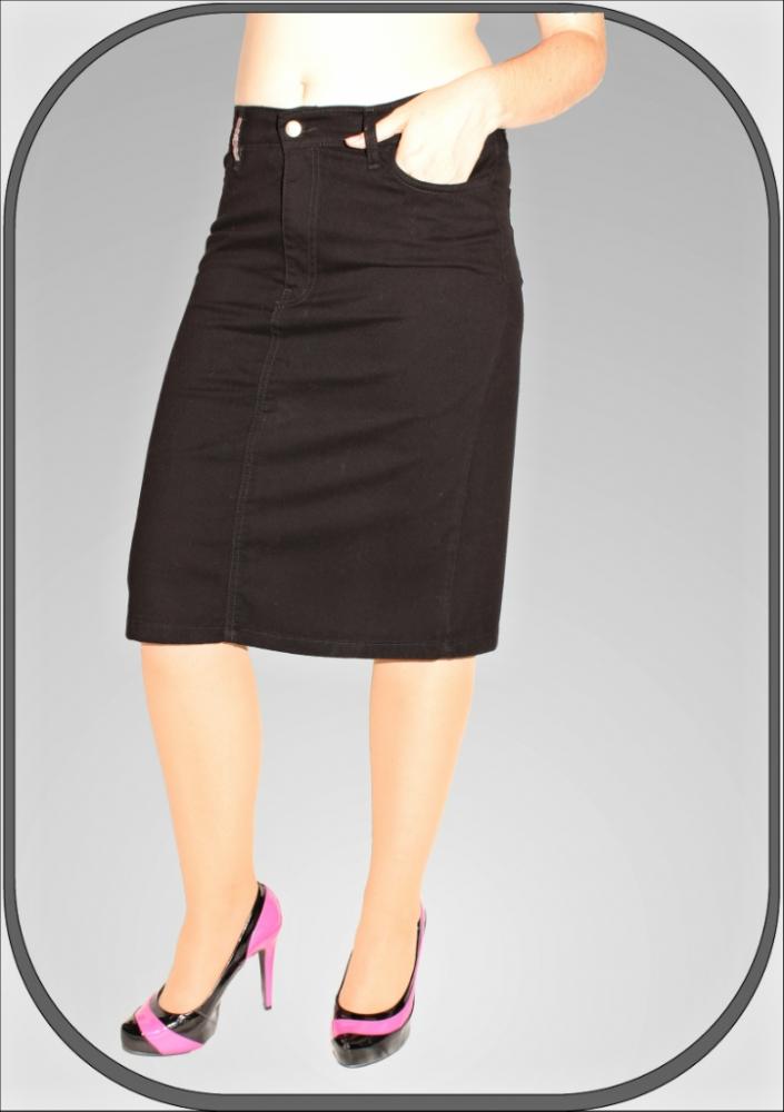 Dámská černá sukně 035 3 a21e5604b3f
