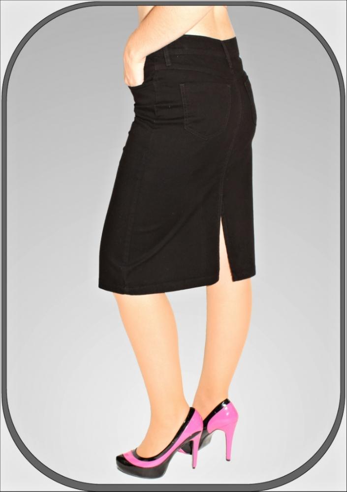Dámská černá sukně 035 4 341588a73f1