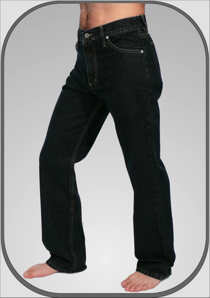 Pánské modré jeansy s elastanem 308 71 32