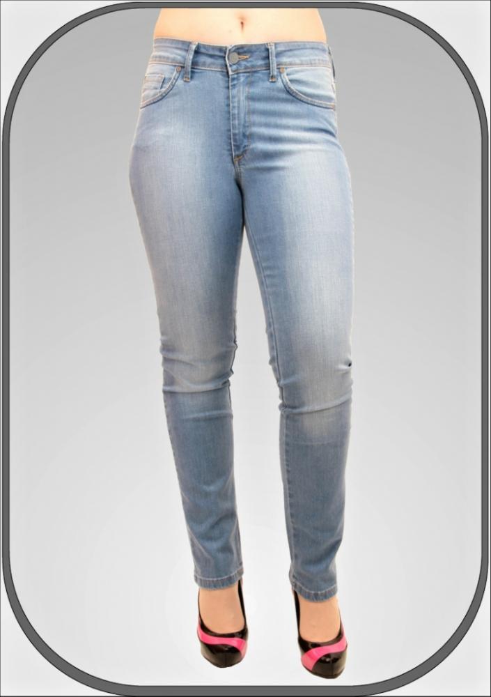 Dámské světle modré zkrácené džíny 216 2 30 82b9556358