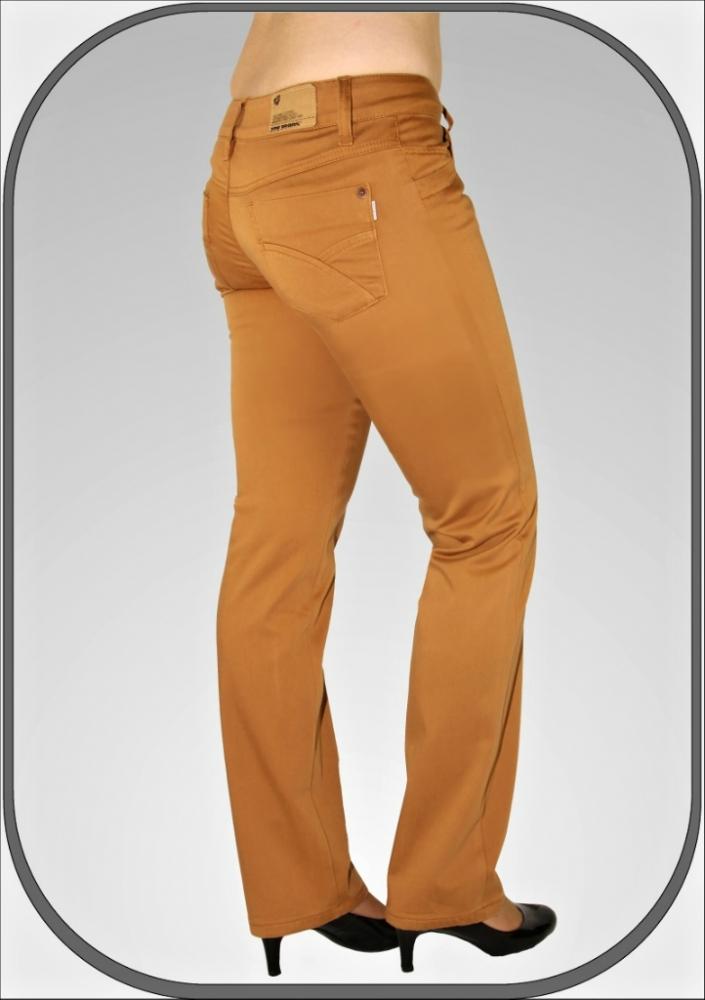 b7c36316c43 Dámské skořicově hnědé kalhoty 202 dl. 32
