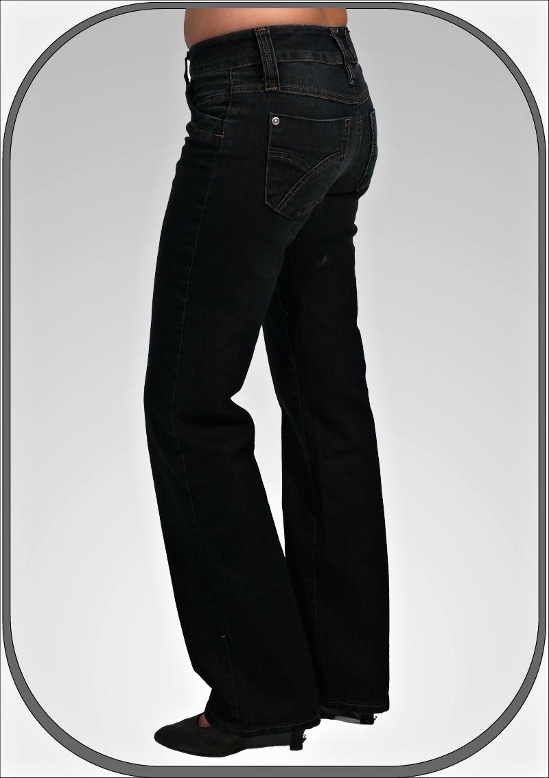 7c9261d8d70 Dámské modré jeansy 202 6 dl.34