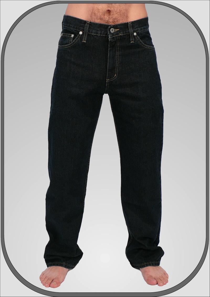 Klasické pánské zkrácené jeansy 302 4 32