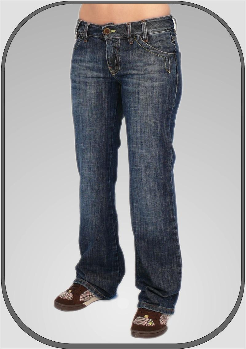 08d6cf89076 Dámské prodloužené jeans bokovky 343  30  34