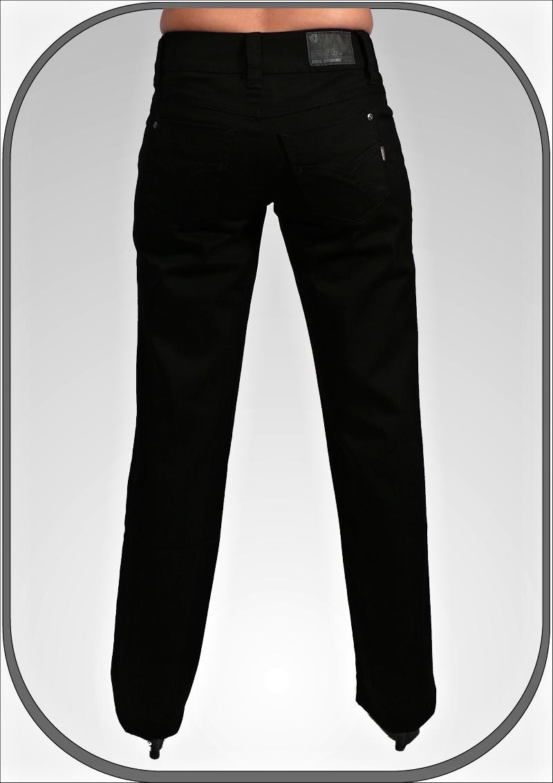a6596c82d8c Dámské černé jeansy 202 ČR dl. 34