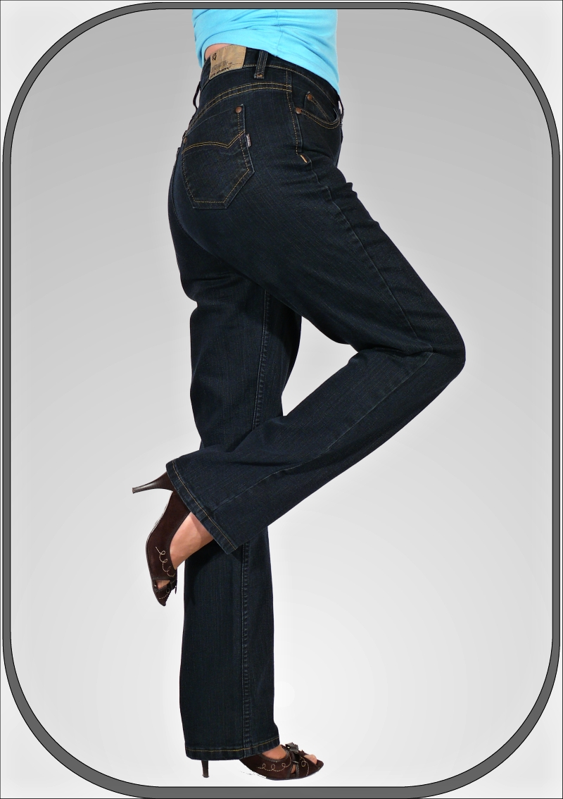 Dámské vysoké jeansy 216 71 délka 32