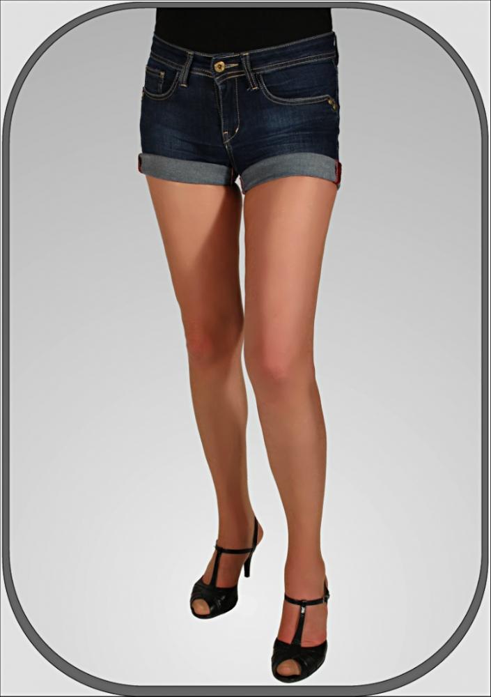 Dámské jeansové šortky ADA 1716f3ec6eb