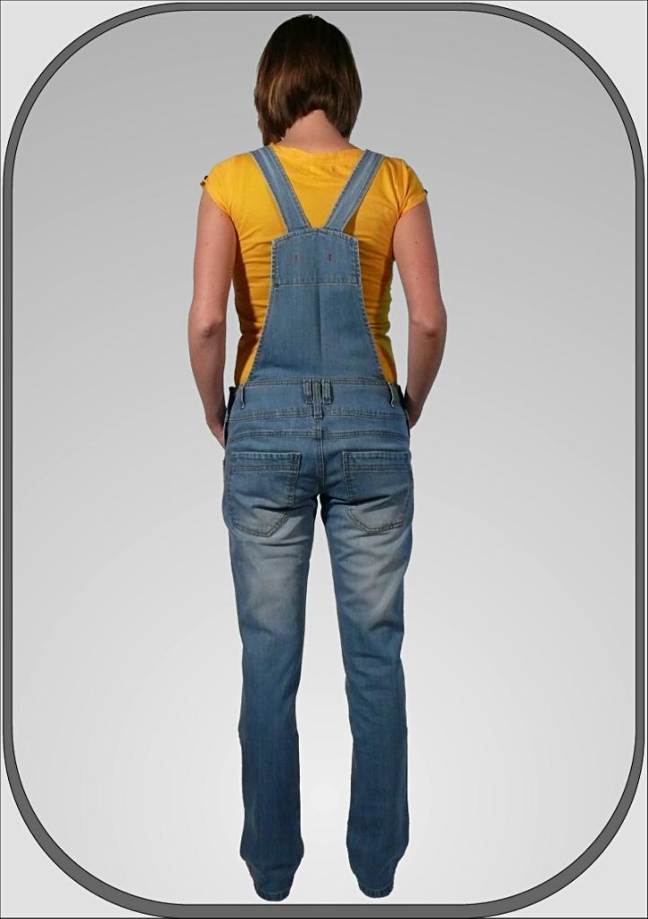 Dámské jeansové lacláky AMANDA 34