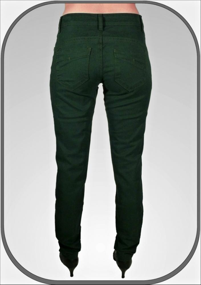 e9b442f288e Dámské zelené kalhoty CLEO dl.34