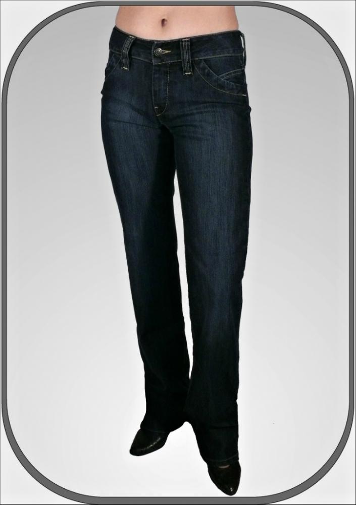 8012e8ae0dc Dámské polovysoké jeansy 202 41 dl. 36