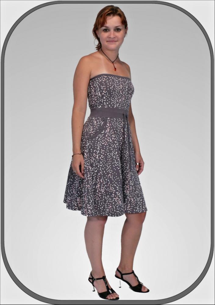 Dámské korzetové letní šaty FDRW504 G24 b5637d9d1ff