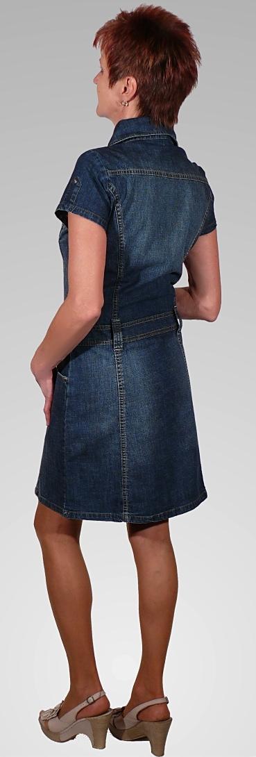 110bde08a01 Jeansové šaty