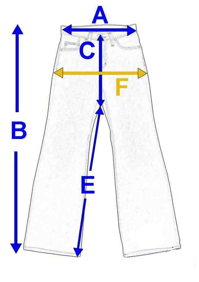 Pánské riflové lacláče 167 32 zkrácené 98e820b57c